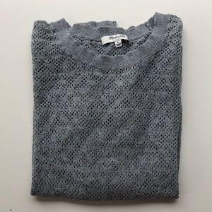 Madewell Open-Knit Light-Weight Sweater
